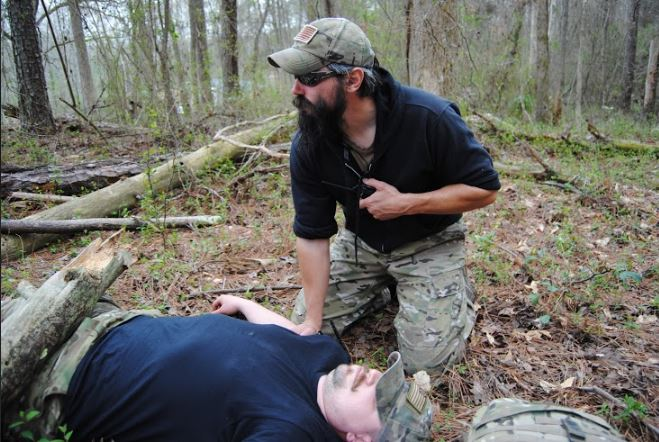 Med training with Crisis Application Group